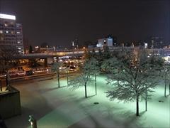札幌ドーム コンサート後 雪