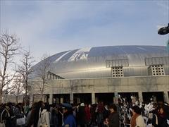 札幌ドーム コンサート前