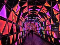 東京ドーム ルミナストンネル