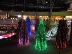 東京ドーム メンバーカラー紫青緑黄赤