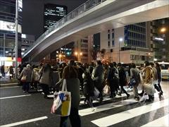 東京公演2日目退場の様子
