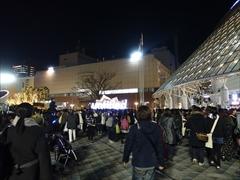 東京ドーム 入場 17:33