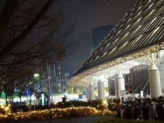 東京公演初日退場の様子